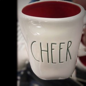 Rae Dunn Cheer Mug New
